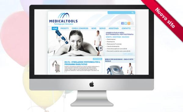 Medicaltools si rinnova: Nuovo Sito e Nuovo Logo