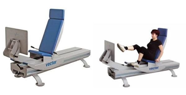 Vector UP - Lavoro elastico controllato per rieducare l'arto