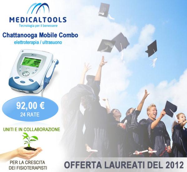 """Promozione """"Laureati del 2012"""" - 24 Rate per un apparecchio combinato (elettroterapia/ultrasuono)"""