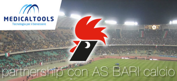 Medical Tools partnership con AS BARI calcio