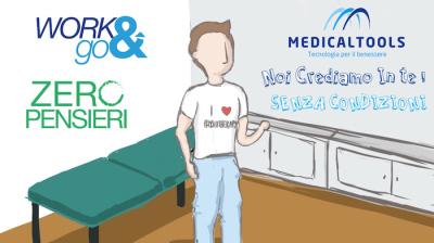 Work & Go / Zero Pensieri, l'innovativa soluzione di Medical Tools