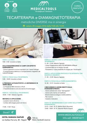 Corso - Tecarterapia e Diamagnetoterapia, metodiche diverse ma in sinergia - Napoli 2016 - Gratuito