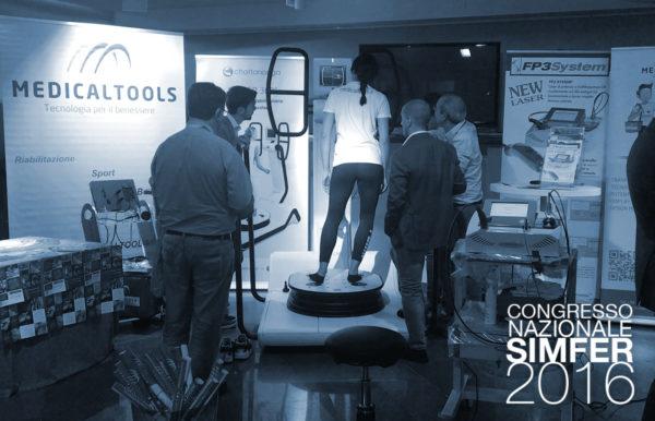 """Medical Tools presente al """"SIMFER"""" 44° Congresso Nazionale per le tecnologie riabilitative - Bari - 23-26 ottobre 2016"""