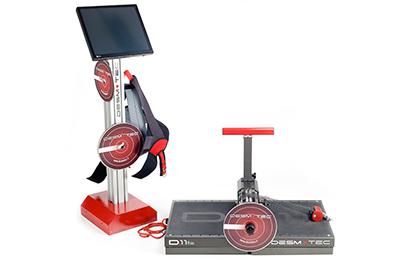 D11 Fisio - apparecchiatura isoinerziale per attivazione muscolare