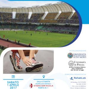 Corso - Nuove tecnologie nel trattamento dei traumi sportivi -  Bari (Stadio San Nicola) 2017 - Gratuito