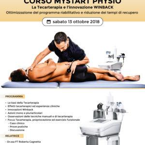 Corso - MyStart Physio - Ottimizzazione programma riabilitativo e riduzione tempi di recupero  - Modugno 13 ottobre 2018 - Gratuito