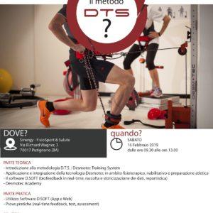 Corso – Conosci il metodo Desmotec Training System? – Putignano (BA) 16 febbraio 2019 – Gratuito