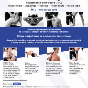 Corso FASCIQ - Trattamento delle Fasce (FTC) - Modugno (BA) 9-10 febbraio 2019