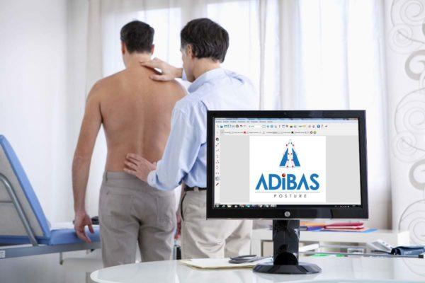 Software ADiBAS Posture 3D - misurazione, analisi e test della postura