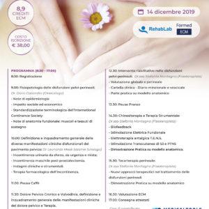 Corso ECM – INTIMITY – Anatomia, valutazione e trattamento patologie pelvi-perineali - Mola di Bari - 14 dicembre 2019