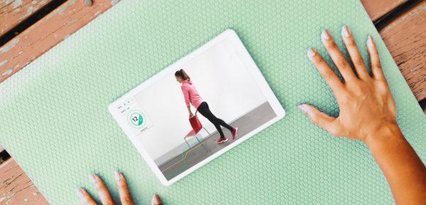 KARI - sensore inerziale per riabilitazione/esercizio terapia personalizzato